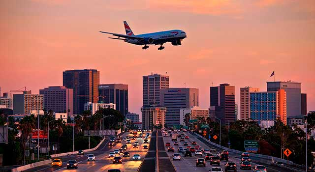 The airport is located 3 miles northwest of downtown San Diego.